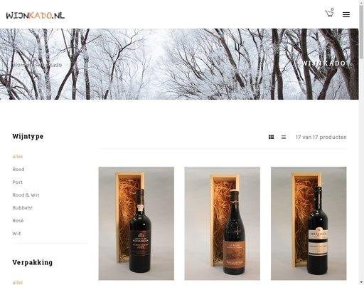 Wijn Kado Online Winkelen